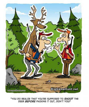 All Graphics » hunting cartoons