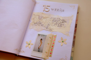 Pregnancy Scrapbook Quotes Pregnancy journal