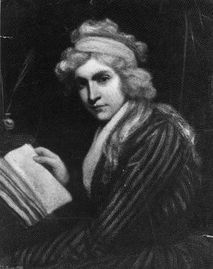 Mary Wollstonecraft - Engraving by Opie. Getty Images / Hulton Archive