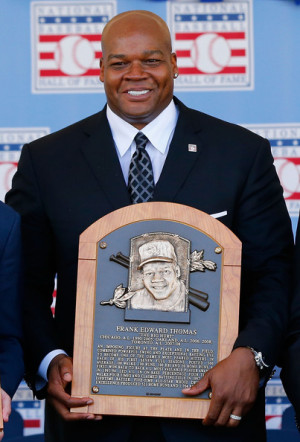 Frank Thomas Baseball Hall of Fame