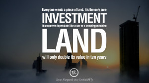... Sam Shepard Quotes on Real Estate Investing and Property Investment