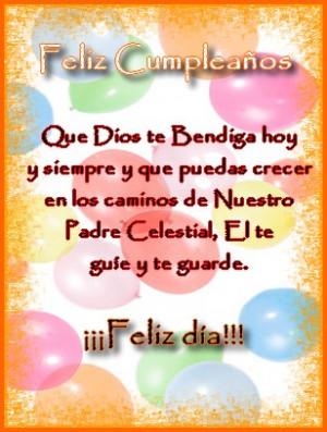 Mensaje de feliz cumpleaños Religiosos