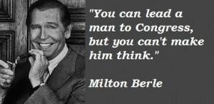 Milton berle famous quotes 2