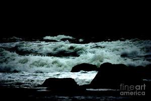 Stormy Seas At Night