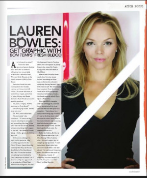Lauren Bowles | The Vault - TrueBlood-