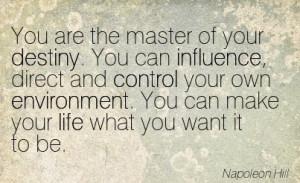 Famous quotes about destiny