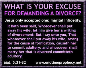 matthew 5 31 32 Biblical Marriage / Divorce / Adultery Graphic 13