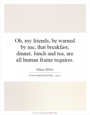 Bed And Breakfast Quote | Picture Quotes & Sayings