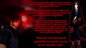 Quotes Kata Bijak Itachi...
