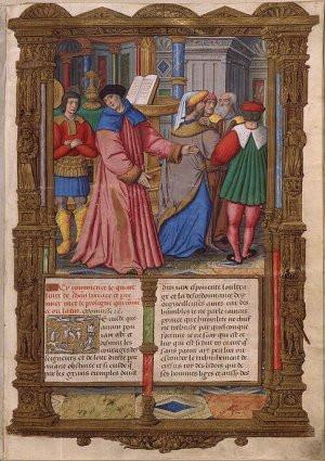 Giovanni Boccaccio . (1313–1375). The Italian writer Giovanni ...