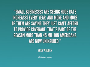 Small businesses are seeing huge rate increases every year, and more ...
