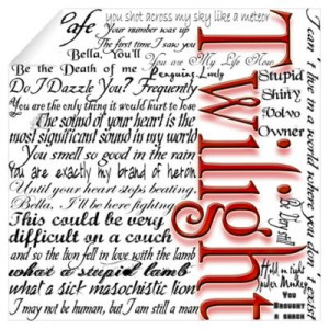 ... > Wall Art > Wall Decals > Movie Twilight Quotes Gifts Wall Decal
