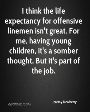 Offensive Lineman Quotes