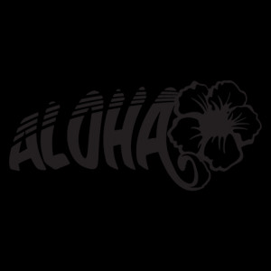 Aloha Hibiscus Wall Quotes Wall Art Decal
