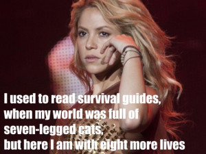 SHAKIRA QUOTES image gallery