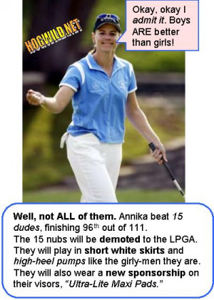 annika sorenstam jokes funny golf pictures twisted humor