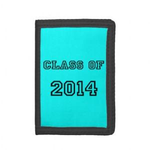 Class of 2014 With Graduation Cap & Diploma Wallet