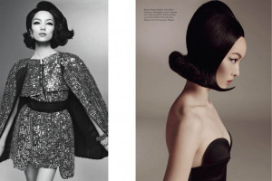 ... Meisel, Fei Fei Sun, Feifei, Fashion Editorial, Italia January, China