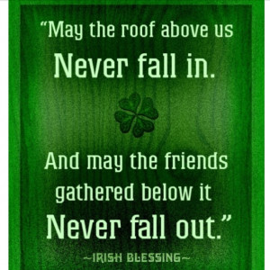 GREEN ~ Irish blessing
