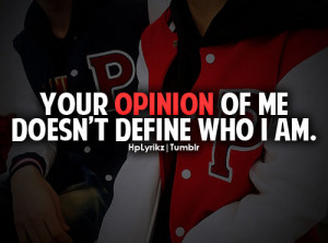 ... # quote # hplyrikz # boys # girls # guys # haters # opinion # life