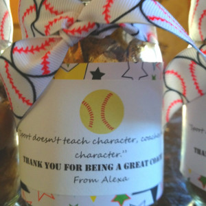 Thank you gifts for softball coaches