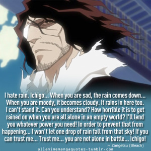 view original image bleach quotes bleach kurosaki ichigo quotes anime ...