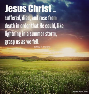 Jesus Christ ... suffered, died and rose from death in order that He ...
