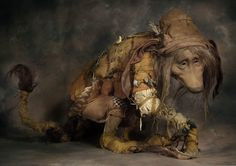 ... Troll by Wendy Froud 18 quot tall crouching x 32 quot long Detail