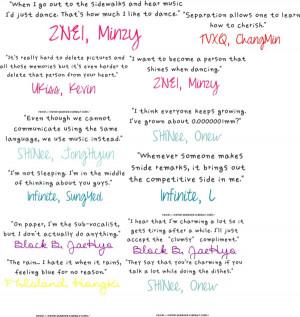 kpop quotes :3