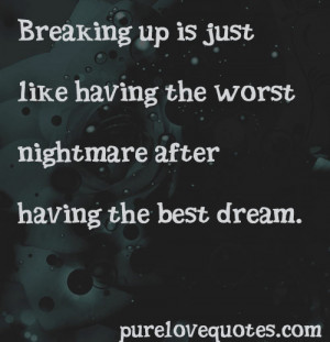Sad Break Up Quotes That Make You Cry