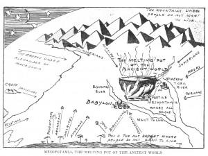 Visual Metaphors - Hendrik Willem van Loon: Illustrations from The ...