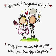 Hurrah! Congratulations! More