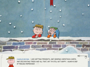 The Festive Apple A Charlie Brown Christmas on iPhone and iPad