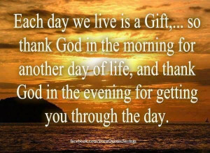 Good Morning Thank You God Quotes