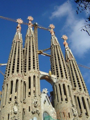 Antoni Gaudi with The Architectural Marvels in Pictures, Quotes