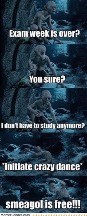 Funny Memes - Exam Week