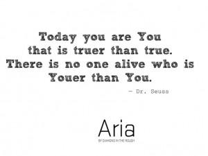 quotes #truetoyou #drseuss #quote