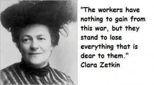 Clara zetkin famous quotes 1