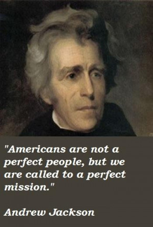 Andrew jackson famous quotes 1