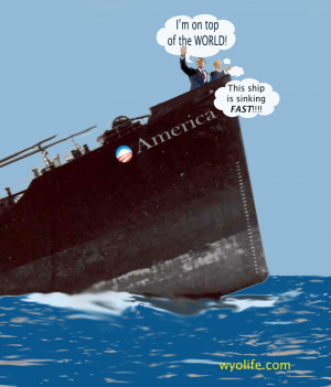 Funny Sinking Ship
