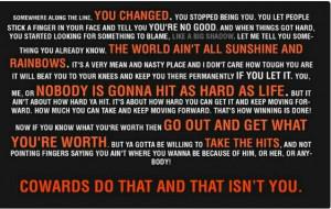 , Rocky Balboa Quotes, Rockybalboa, Favorite Quotes, Movie Quotes ...