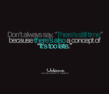 Always Quote Quotes Time