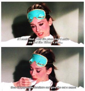 Audrey Hepburn in Breakfast At Tiffanys in 1961.Cat, Favorite Things ...