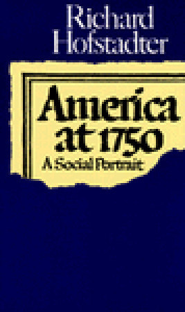 """Start by marking """"America at 1750: A Social Portrait"""" as Want to ..."""