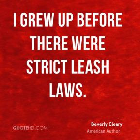 beverly-cleary-beverly-cleary-i-grew-up-before-there-were-strict-leash ...
