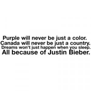 ... image include: justin bieber, purple, canada, belieber and beliebers