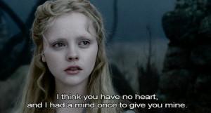 ... depp, love, movie quote, sad, sleepy hollow, tim burton, typography