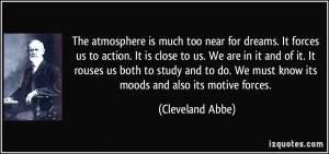 More Cleveland Abbe Quotes
