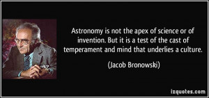 More Jacob Bronowski Quotes