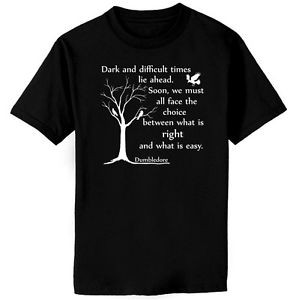 Dumbledore-Dark-Times-Quote-Harry-Potter-Dark-T-shirt-Youth-XS-Adult ...